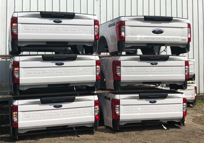 Ford Pickup beds tailgates